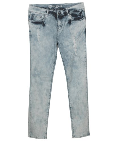 02f02d45774 Plus Size Skinny Ripped Jeans --Size  20 Color  Blue - Buy Online in UAE.