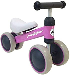 MotoTod Mini Baby and Toddler Balance Bike, No-Pedal, for Ages 10 Months, 12 Months, 1 Year to 2 Years