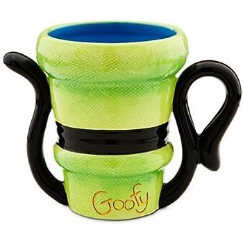 Amazon Com Disney Goofy Full Face 3d 11oz Ceramic Mug