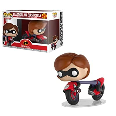 Funko POP! Ride Disney: Incredibles 2 - Elastigirl with Elasticycle Collectible Figure: Toys & Games