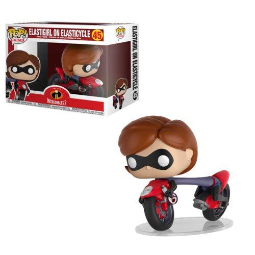 Funko POP! Ride Disney: Incredibles 2 - Elastigirl with Elasticycle Collectible Figure