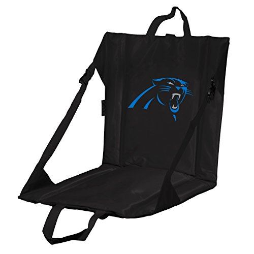 Logo Brands NFL Carolina Panthers Stadium Seat, One Size, Charcoal Carolina Stadium Seat