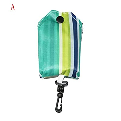 Chartsea Women Foldable Reusable Nylon Eco Handbag Storage Travel Shopping Tote Grocery Bags