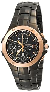 Seiko Men's SNAC42 Coutura Alarm Chronograph Watch