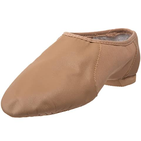 Bloch Dance Neo Flex Slip-On (Toddler/Little Kid),Tan,10.5 N US Little Kid