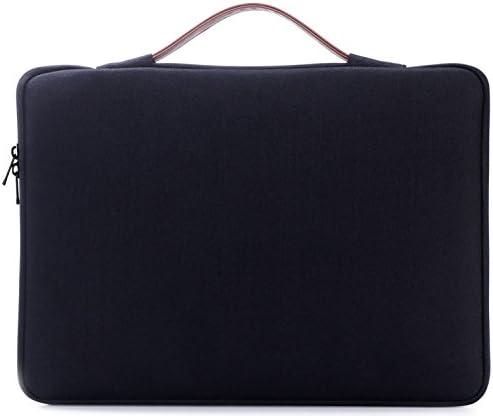 "ProCase 14-15.6 Inch Laptop Sleeve Case Protective Bag, Ultrabook Notebook Carrying Case Handbag for MacBook Pro 16"" / 14"" 15"" 15.6"" Dell Lenovo HP Acer Samsung Sony Chromebook Computer –Black"