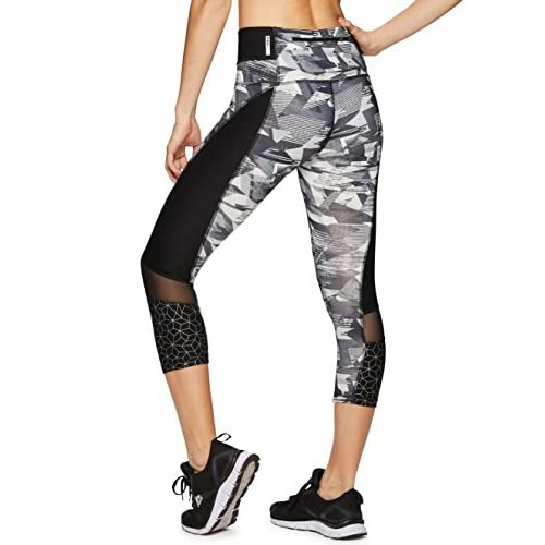 d7b242cb1ac773 RBX Active Women's Seasonal Printed Capri Length Yoga Leggings ...