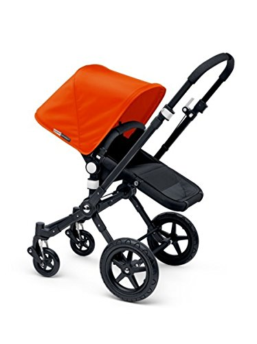 Bugaboo 2015 Cameleon 3 Stroller With Extendable Canopy, All Black/Grey Melange
