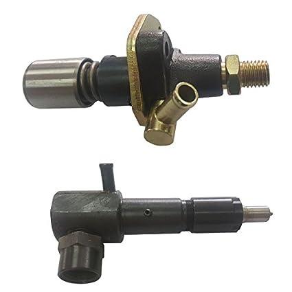 Amazon com : Fuel Injector Pump No Solenoid + 1 Injector For