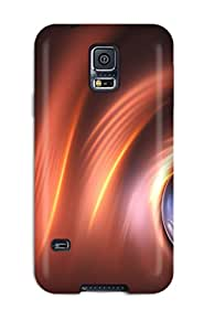 Tpu Shockproof/dirt-proof Artistic Abstract Cover Case For Galaxy(s5)