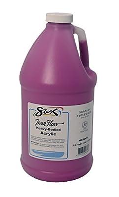 Sax 408508 True Flow Heavy Bodied Acrylic Paint - 1/2 Gallon - Magenta