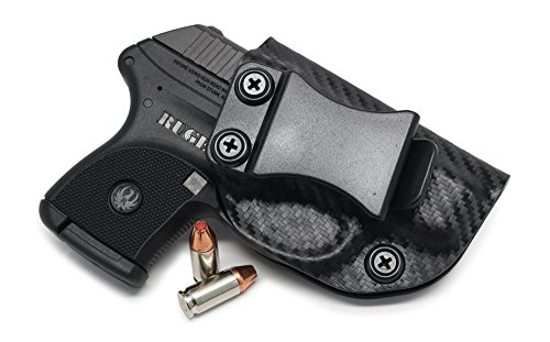 Concealment Express IWB KYDEX Holster: fits Ruger LCP (CF BLK, RH) - Inside Waistband Concealed Carry - Adj. Cant/Retention - US Made