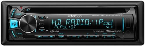 Kenwood KDC-HD262U CD Receiver with Built-in HD Radio