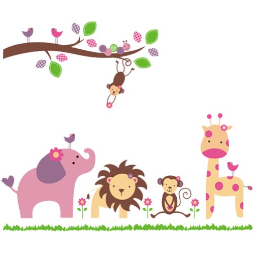 Nursery Wall Sticker Decals for Boys and