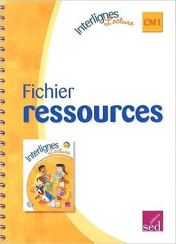 fichier ressources interlignes cm1