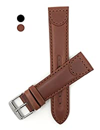 14mm Light Brown Leather Watch Strap, Tone-on-Tone, many colors, Replaces for many Swiss Army, Wenger