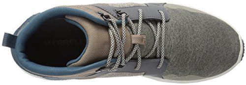 Merrell Mens 1six8 Mid Fashion Sneaker In Alluminio