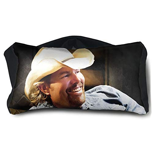 Toby Keith Clancy's Tavern Camping Train Airplane Portable Eye Pillow ()