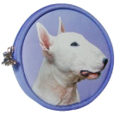 Inglés Bull Terrier perro Monedero fabricado por sawley ...