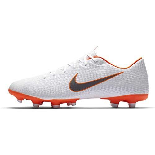 49155ae53 Nike Mercurial Vapor 12 Academy MG (White Total Orange) (Men s 7 Women s  8.5)