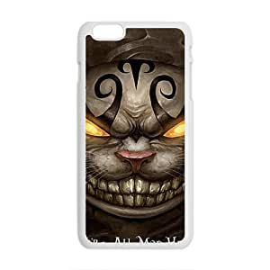 Were All Mad Here New Style HOT SALE Comstom Protective case cover For iPhone 6 Plus