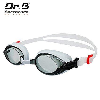 Dr.B Barracuda Optical Swim Goggle Barracuda RX with 3 Nose Pieces