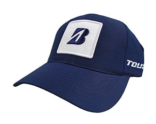 新しいブリヂストンゴルフKuchar Collection Navyブルー/ホワイト調節可能な帽子/キャップ
