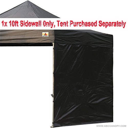 AbcCanopy-10-Sun-Wall-for-10x-10-straight-leg-pop-up-canopy-Tent-10-Sidewall-kit-1-Panel-with-Truss-Straps