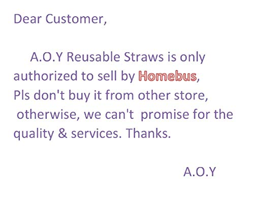 - A.O.Y Collapsible Reusable Straws Foldable Stainless Steel Drinking Straws with Case and Cleaning Brush Food-Grade Portable Straw Set for Travel, School, Household and Outdoor Color Green & Pink