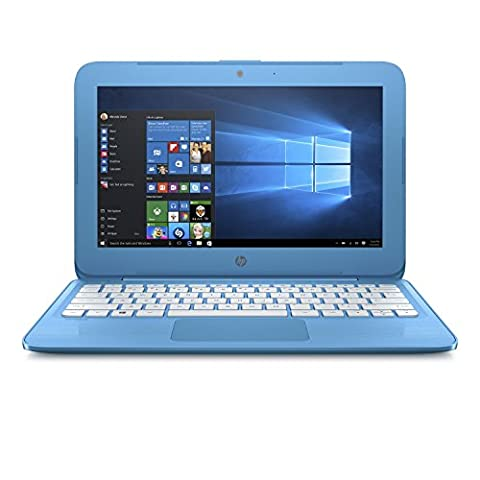 2017 HP Stream 11.6 inch Premium Flagship Laptop, Intel Celeron Core up to 2.48GHz, 4GB RAM, 32GB SSD, 802.11ac WiFi, Bluetooth, Webcam, USB 3.0, Windows 10 Home, Blue (Certified - Hp Keyboard Lock