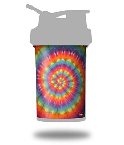 Sports Swirl Tie Dye - Tie Dye Swirl 107 - Decal Style Skin Wrap fits Blender Bottle 22oz ProStak (BOTTLE NOT INCLUDED)