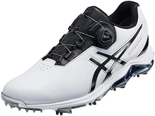 ゲルエース プロ 4 ボア ゴルフシューズ 1113A002 100 ホワイト/ブラック 24.5cm