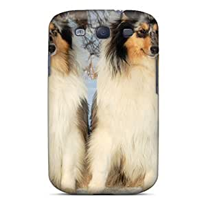 S3 Scratch-proof Protection Case Cover For Galaxy/ Hot Russian Snow Dogs Phone Case