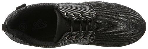 Mujer Negro Schwarz Zapatillas Brilliant para Lico qfAtOw1