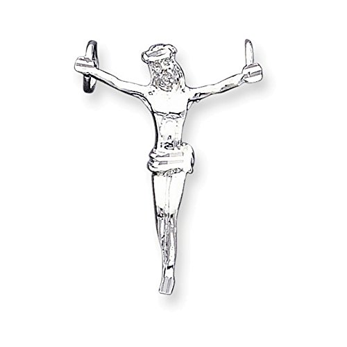 Sterling Silver Corpus (Crucified Christ) Pendant (Corpus Christ Pendant Crucified)
