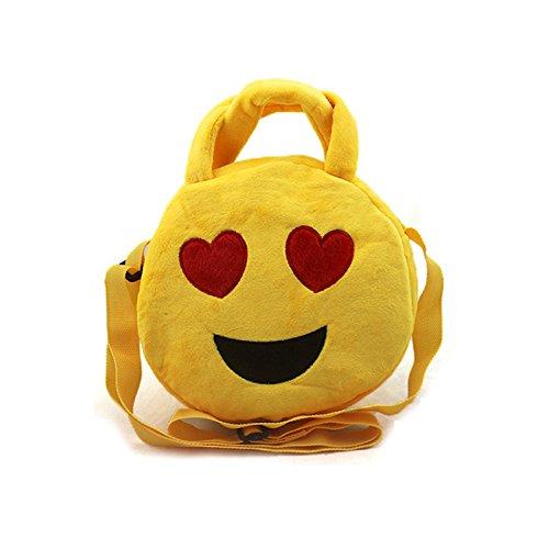 Generic smile1: Cute Emoji portátil bolsos bolsas de ...