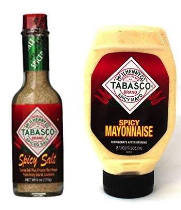 Tabasco Spicy Mayo 18 oz & Spicy Salt 6 oz (Variety - Spicy Mayonnaise