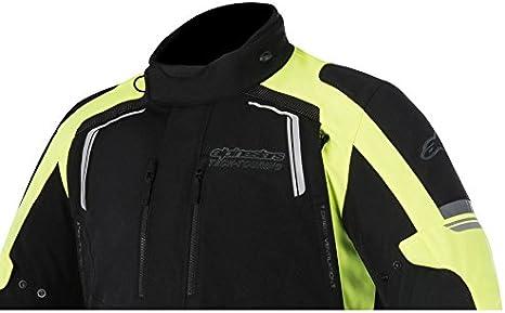 Black Alpinestars Andes V2 Drystar Textile Motorcycle Jacket