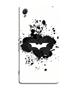 ColorKing Sony Xperia XA1 Case Shell Cover - Batman Multi Color