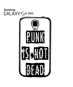 chen-shop design Punk is Not Dead Mobile Cell Phone Case Samsung Galaxy S4 Mini Black high quality