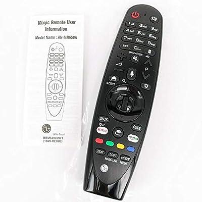 Calvas AN-MR650A - Mando a Distancia para LG TV Magic Smart TV con Control Remoto para Select 2017 UJ63 Series Fernbedienung: Amazon.es: Bricolaje y herramientas