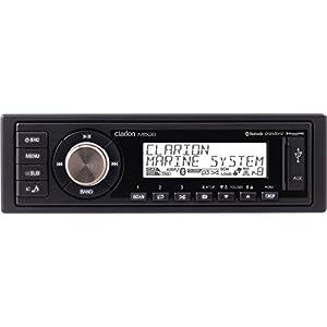 Clarion M508 Marine AM/FM digital media receiver with Bluetooth and USB/AUX/MP3