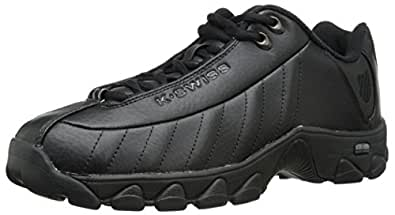 K-Swiss Men's ST329 CMF Training Shoe, Black, 8 XW US