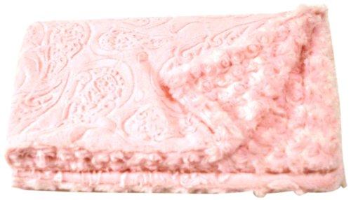 The Dog Squad Minkie Binkie Pet Blanket, Medium, Pink Paisley Review
