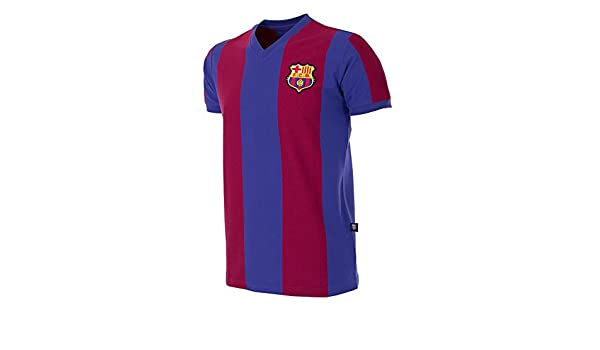 Copa Football - Camiseta Retro FC Barcelona 1976-1977 (XXL ...