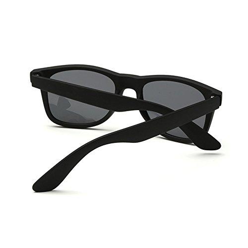 Sol Grande Polarizado Gris De Gafas Protección Forepin Marco UV400 ZFPq6SnB