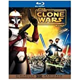 Star Wars CLONE WARS Blu-Ray Exclusive 2 Disc GIFT SET + Comic Book