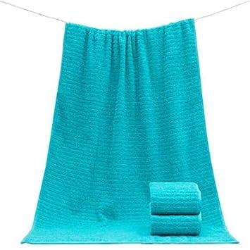 Bearony Suave Juego de 3 Toallas absorbentes para el hogar del Hotel Toallas para Manos y Toallas de baño (Color : Azul): Amazon.es: Hogar
