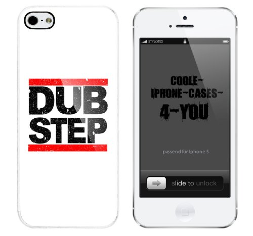 Iphone 5 Case Dub Step Rahmen weiss