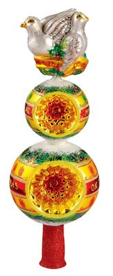 Christopher Radko ''Turtle Pair Finial'' Decorative Finial #1012661 by Christopher Radko